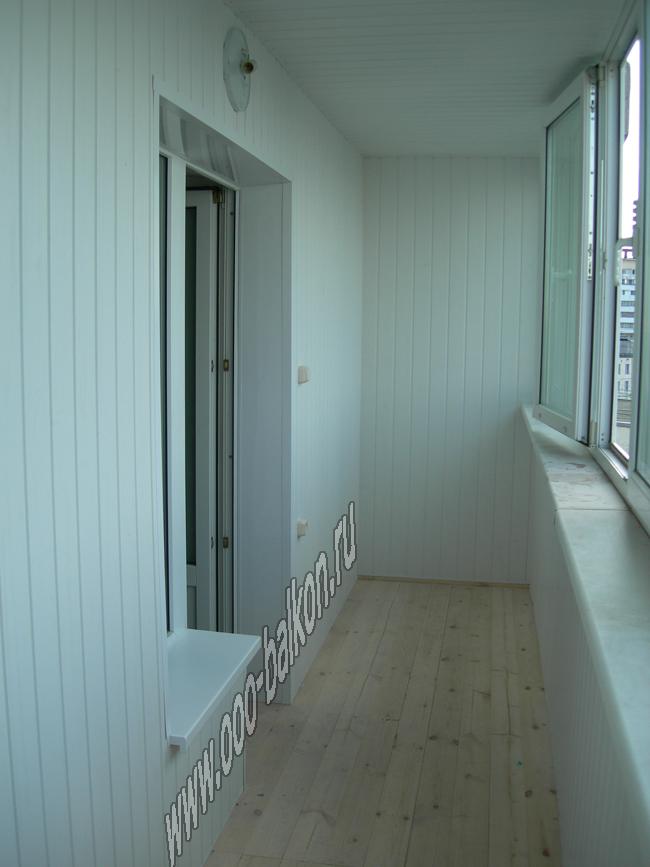 Отделка балкона пвх фото